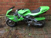 Mini moto bike fully running 49cc brand new 2 stroke engine
