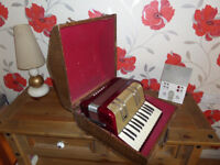 TWO PIANO ACCORDIONS. CIRCA 1950s £100 EACH. CALLS ONLY PLEASE. 07418018338