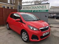 Peugeot 108 1.0 Active 3dr£4,250 p/x welcome 1 YEAR FREE WARRANTY. NEW MOT