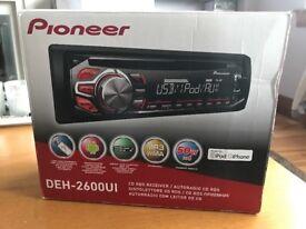 Pioneer DEH-2600UI car stereo