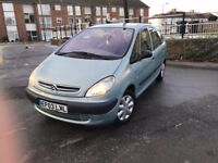 CITROEN XSARA PICASSO 1.6 PETROL LOW MILES LOOKS AND DRIVES SUPERB