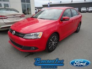 2014 Volkswagen Jetta Sedan cuir Highline