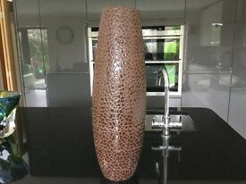 Large brown vase