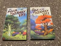 'The Faraway Tree' & 'The Folk of the Faraway Tree' by Enid Blyton. 2 x children's books (for 7+)