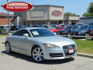 2008 Audi TT LEATHER-SUPER COND-4CYL TURBO