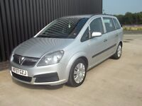 2007 Vauxhall Zafira 1.6 i 16v Life 5dr Long MOT 7 Seats 2 Keys May Px
