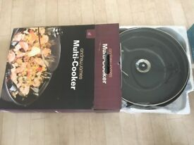 Andrew James Multi Cooker With Glass Lid In Black