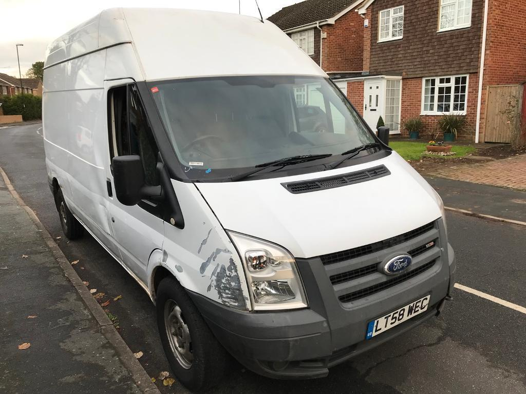 Ford transit 3500 lwb high top 98k miles fsh one owner new mot bodywork ruff