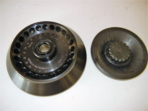 Heraeus instruments Fixed Angle Centrifuge Rotor #3754, HFA 14.2 with 24 spaces
