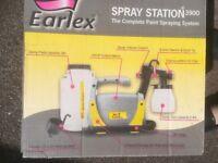 Earlex Spray Station 3900 (for spraying wooden fences)