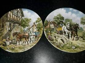 Two Collectors plates excellent condition