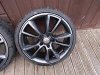 vauxhall vxr 19 alloy wheels, gsi,vectra,astra,zafira saab
