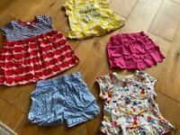Monsoon shorts bundle 12-18 months