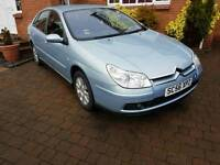 Citroen C5 2007 diesel Exclusive-FSH-very low mileage car with a lot of toys
