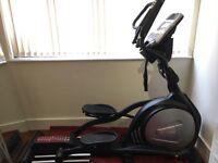 Sole E95 elliptical cross trainer with cooling fan (like new)