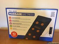 Massage Mattress BRAND NEW