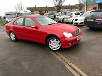 STUNNING MERCEDES C180 MANUAL 1.8 PETROL- ONLY DONE 60K - FULL SERVICE HISTORY/ 3 MONTHS WARRANTY