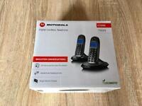 Motorola Digital Cordless Telephones (Twin pack)
