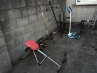 Weights/Gym Equipment/Home Multi Gym/Stepping Machine/Dumbbells Barbell