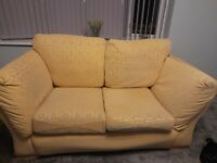 2 seater settee and 2 armchairs