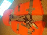 Buoyancy aid life jacket