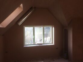 Hi I am an experienced plasterer & tiler who works to a high standard! No job is to big or small!