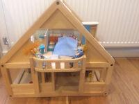 Wooden Toy Dollhouse PLAN TOYS