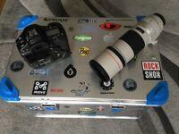 Canon camera & lens