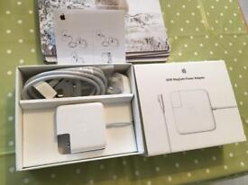 Genuine Apple MagSafe 60W laptop charger