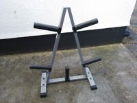 Olympic Weights tree for 2 inch plates