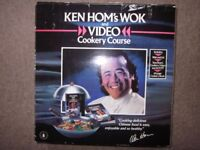 Ken Hom Wok and Video Cookery Course set *Unused*boxed* Wok 30cm/12inch *