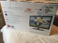 LG 26LD350 26 inch LCD HDTV in box