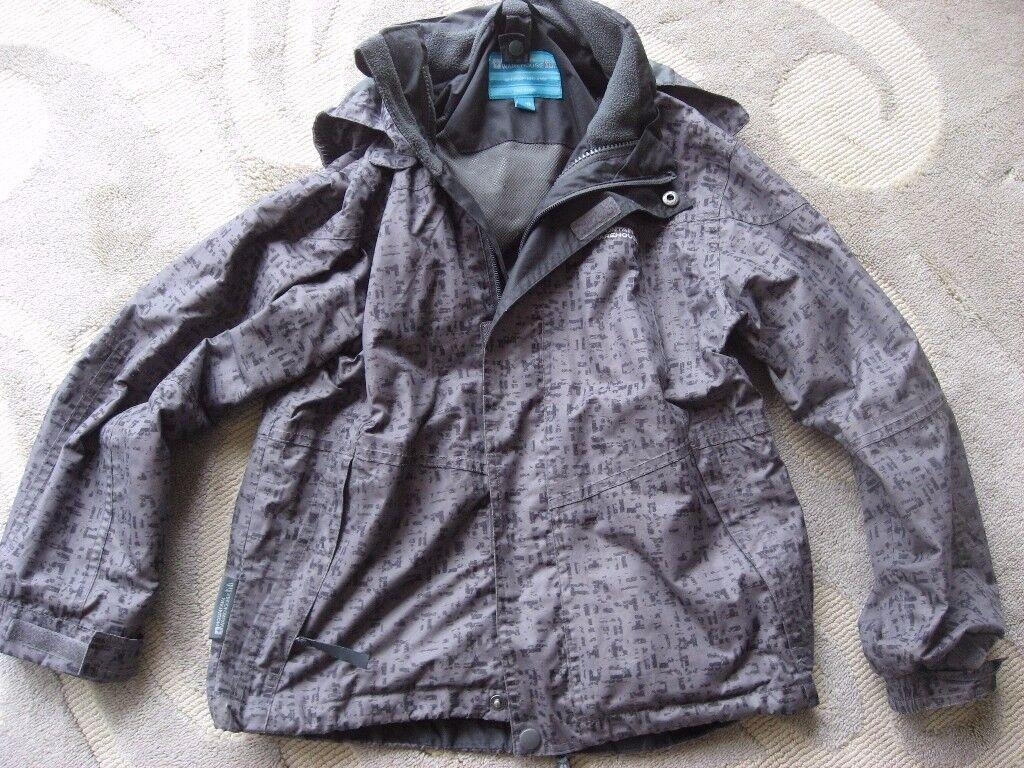 Boys Mountain Warehouse 2 in 1 Waterproof Jacket (Age 9-10)
