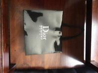 Empty Dior Box and Bag