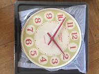 Thomas Kent wall clock BRAND NEW