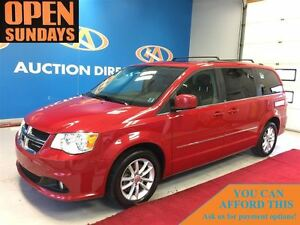2014 Dodge Grand Caravan Crew, 7PASSENGER! LEATHER, DVD, BACK UP