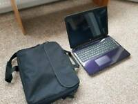 "HP pavilion 15.6"" slim purple laptop 1TB hard drive 4GB RAM"