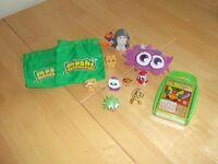 Selection of Moshi Monster items