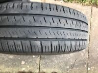 """VW T5 wheels and Hankook tyres 16 """" with Vw trims"""