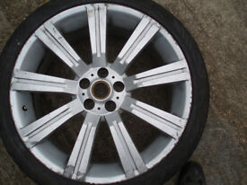 "1 x wheels Range Rover 22"" Stormer with tyres 285/35/22"