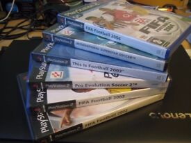 Bunch of Football games for PS2