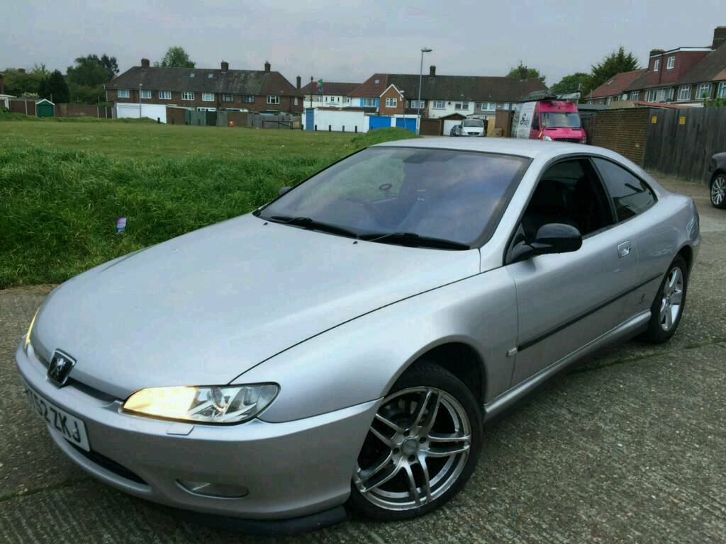 peugeot 406 coup 2 2 16v hdi turbo diesel full leather seats long mot 580 or px in barking. Black Bedroom Furniture Sets. Home Design Ideas