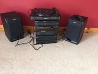 Sony hi-fi and record player