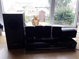 PANASONIC DVD HOME THEATRE SURROUND SYSTEM VERY GOOD CONDITION
