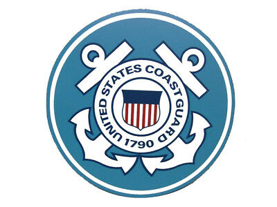 Guard Emblem - U.S. Coast Guard Emblem Crest Circular 5