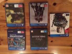 5 PS4 games in excellent condition (£40 the lot or £10 each)