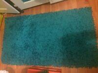 Blue rug for sale £10
