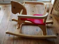 Wooden Rocking Horse by John