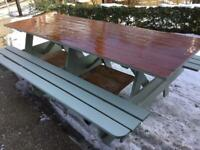 222mm picnic bench Norwich not tav