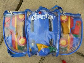 14 item bundle of kids toys, dress up, roller skates etc.
